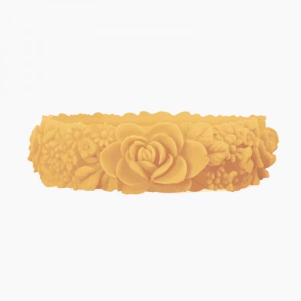 O bracelet .fleurs / large