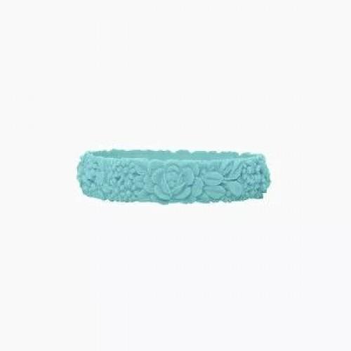 O bracelet .fleurs / slim