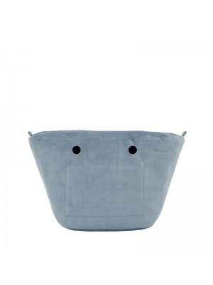 O bag knit mini .intérieur microfibre
