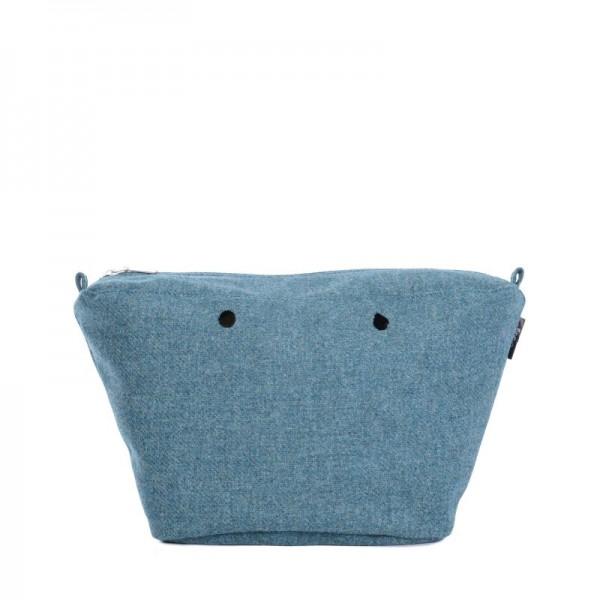 O bag knit mini .intérieur tweed