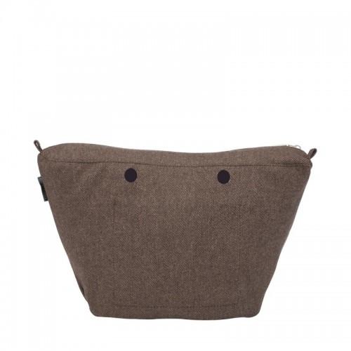 O bag knit .intérieur fine trame