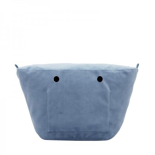 O bag knit .intérieur microfibre