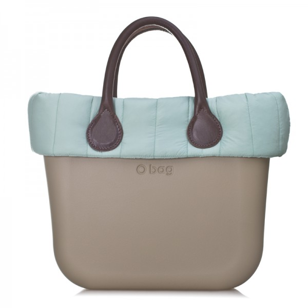O bag mini .bordure doudoune