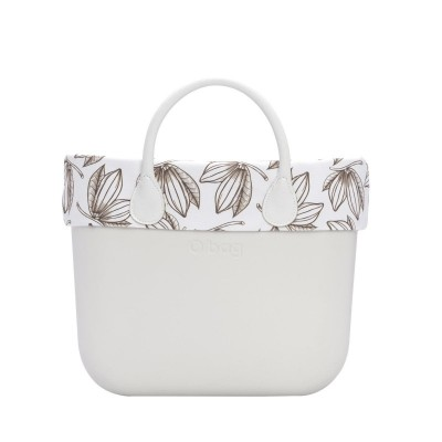 O bag mini .bordure fantaisie coco