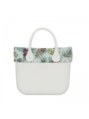 O bag mini .bordure fantaisie jungle