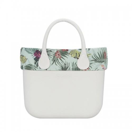 O bag mini .bordure fantaisie jungle
