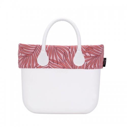 O bag mini .bordure palmiers