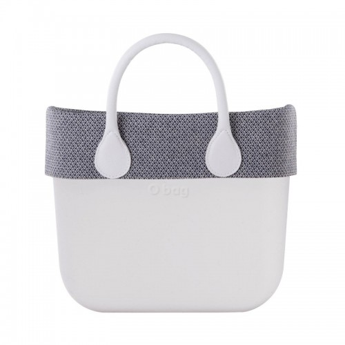 O bag mini .bordure grain de café