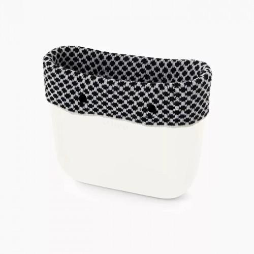 O bag mini .bordure laine Oslo
