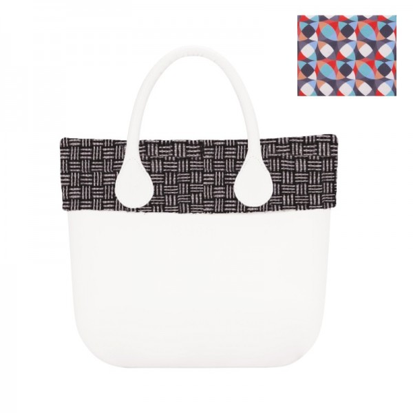 O bag mini .bordure optique réversible