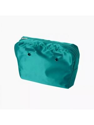 O bag mini .intérieur à passants laqué