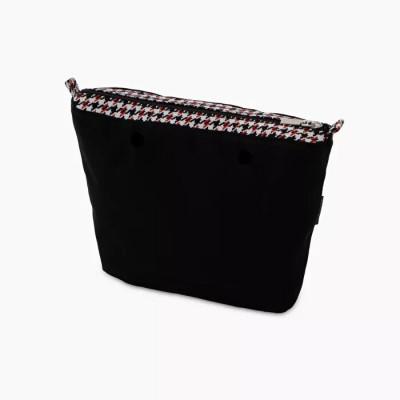 O bag mini .intérieur pied-de-poule