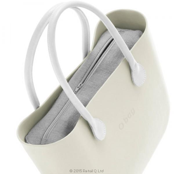 O bag mini .intérieur lin