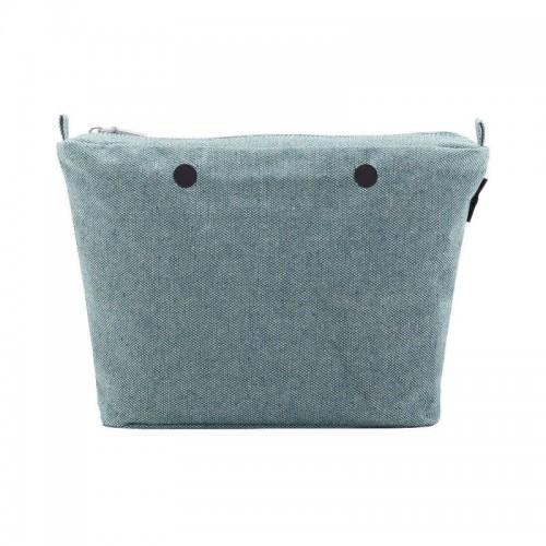 O bag mini .intérieur fantaisie oeil de perdrix