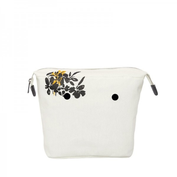 O bag mini .intérieur fantaisie fleurs