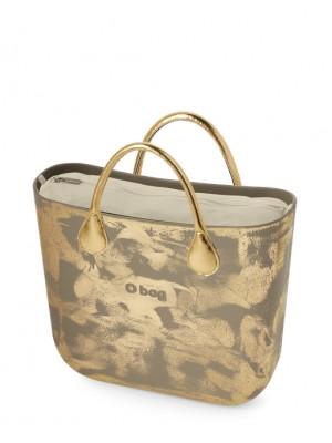O bag mini complet peint doré