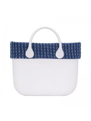 O bag .bordure denim