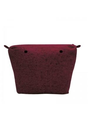 O bag .intérieur laine mouchetée