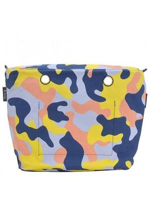 O bag .intérieur toile camouflage