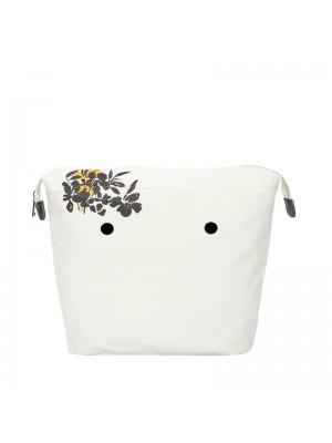 O bag .intérieur fantaisie fleurs