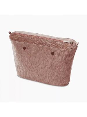 O bag .intérieur velours plissé