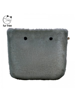 O bag .couverture fausse fourrure lapin