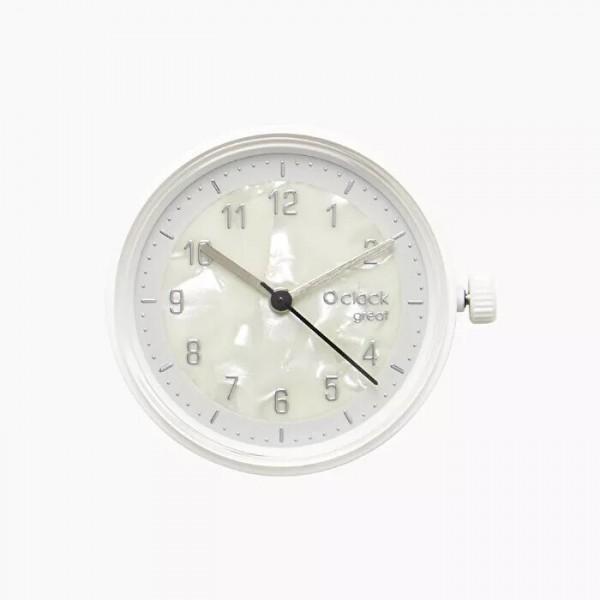 O clock great .cadran cercle de nacre