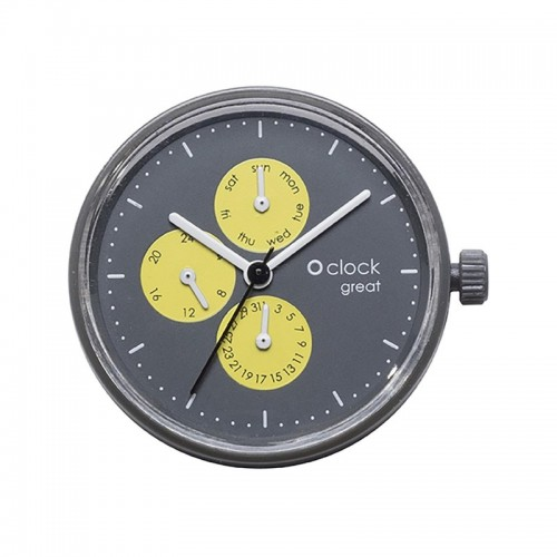 O clock great .cadran date fluo