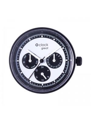 O clock great .cadran date racing flashy