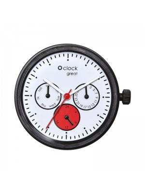 O clock great .cadran date satin