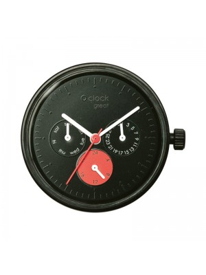 O clock great .cadran date satin