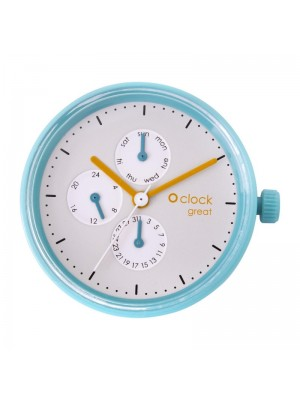 O clock great .cadran date couleur