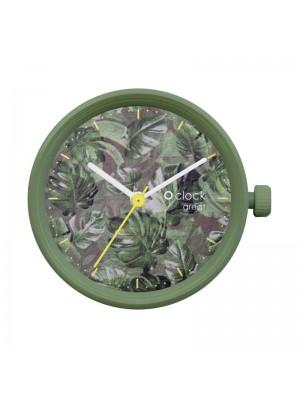 O clock great .cadran feuilles de Manille