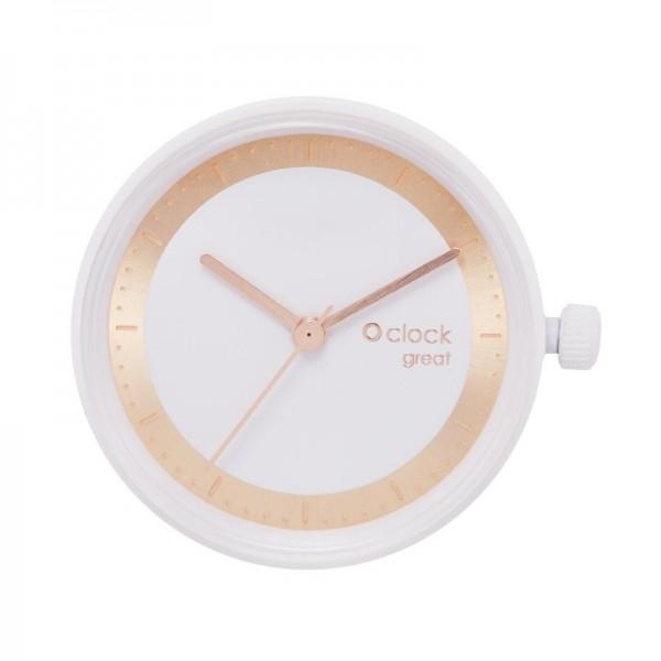 O clock great .metal ring