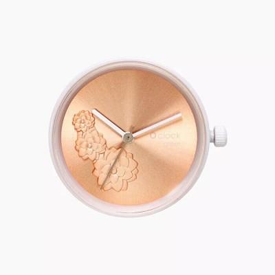 O clock great .dial nacré nénuphar
