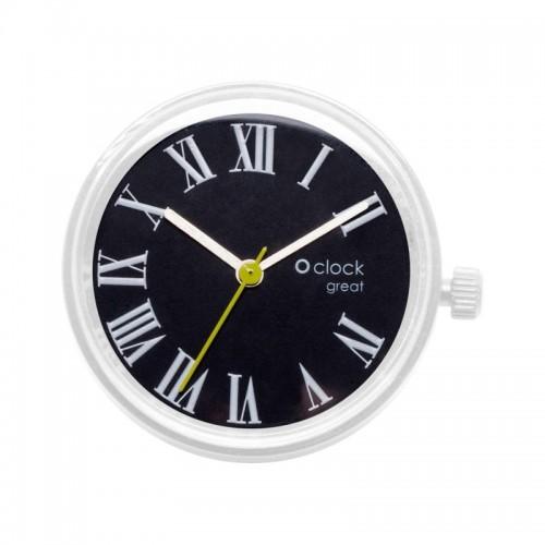 O clock great .cadran chiffres romains