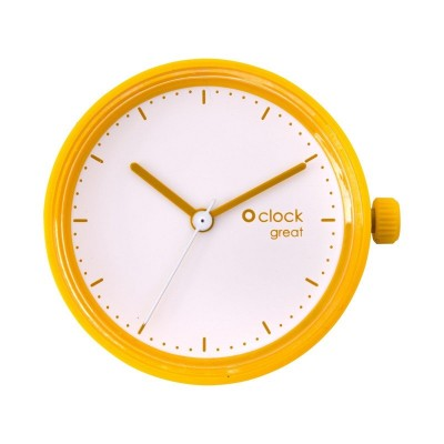 O clock great .secondes