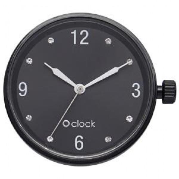 O clock .chiffres cristal