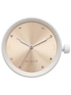 O clock .cadran chiffres cristal