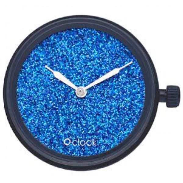 O clock .cadran ciel de cristal