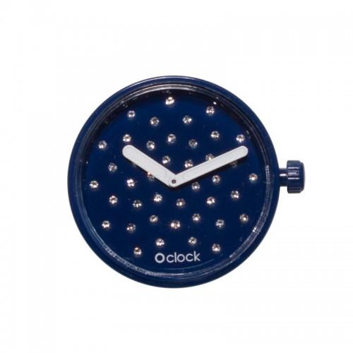 O clock .cadran cristal