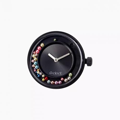 O clock .cadran perles dansantes