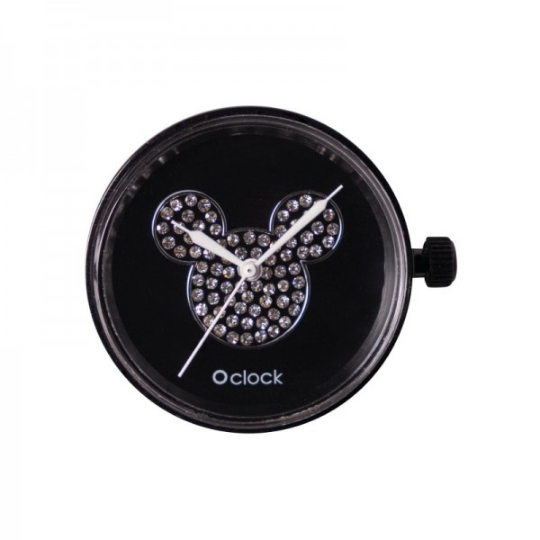O clock .cadran Mickey cristal