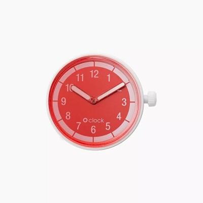 O clock .cadran peinture délavée