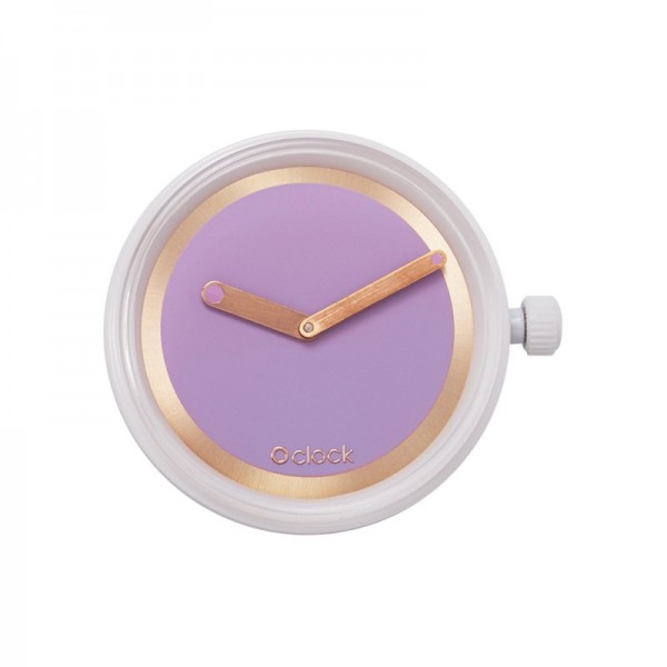 O clock .cadran anneau métal