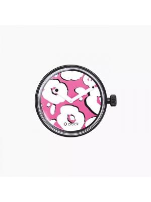 O clock .cadran fleurs New York
