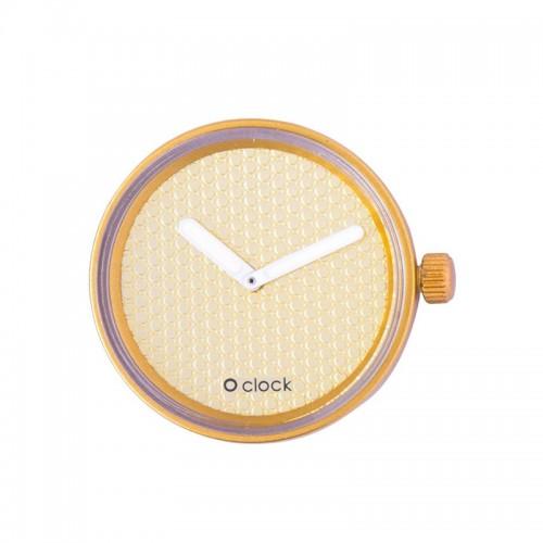 O clock .cadran pavé
