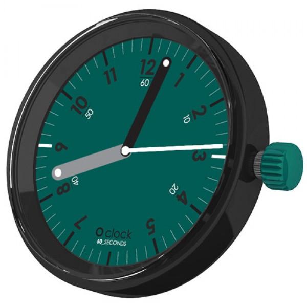 O clock .cadran chiffres trotteuse