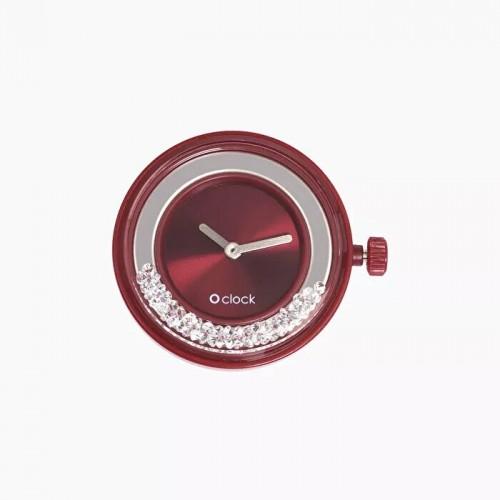 O clock .cadran shiny cristal