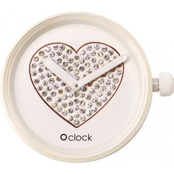 O clock .cadran coeur pétillant